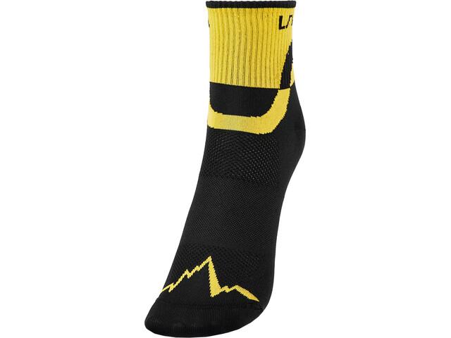 La Sportiva Trail Running Socks, negro/amarillo
